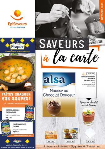 EpiSaveurs catalogue publicitaire (valable jusqu'au 31-10)
