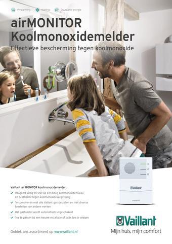Vaillant reclame folder (geldig t/m 31-03)