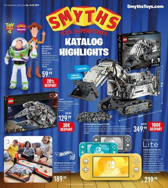 Smyths Toys Prospekt (bis einschl. 14-12)