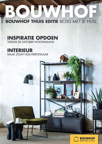 Bouwhof reclame folder (geldig t/m 21-10)