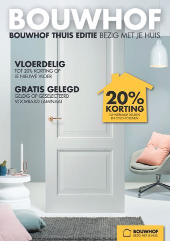 Bouwhof reclame folder (geldig t/m 30-11)