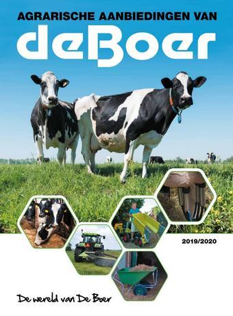 De Boer Drachten reclame folder (geldig t/m 31-03)
