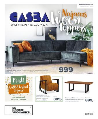 Casba reclame folder (geldig t/m 27-10)