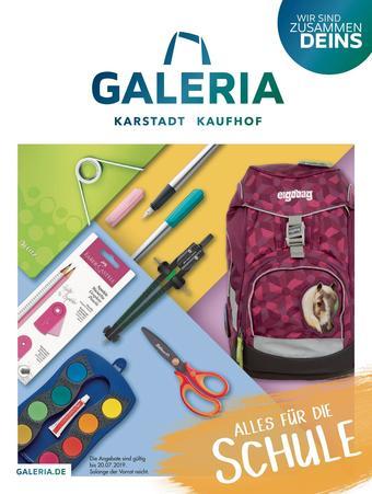 Galeria Karstadt Kaufhof Prospekt (bis einschl. 20-07)