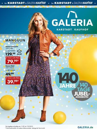 Galeria Karstadt Kaufhof Prospekt (bis einschl. 17-09)