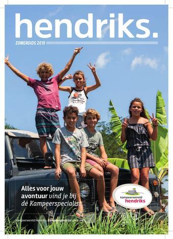 Kampeerwereld Hendriks reclame folder (geldig t/m 31-01)