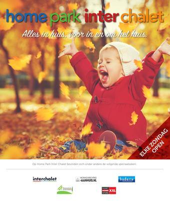 Inter Chalet reclame folder (geldig t/m 28-10)