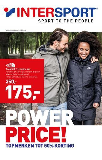 Intersport reclame folder (geldig t/m 03-11)