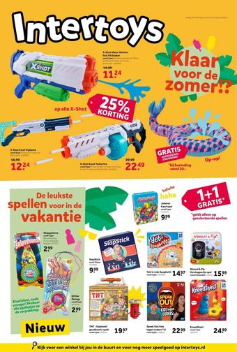 Intertoys reclame folder (geldig t/m 07-07)