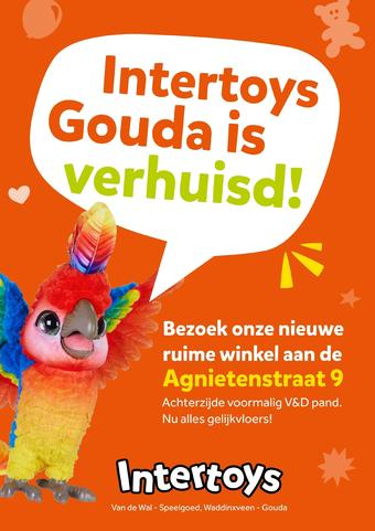 Intertoys reclame folder (geldig t/m 10-11)