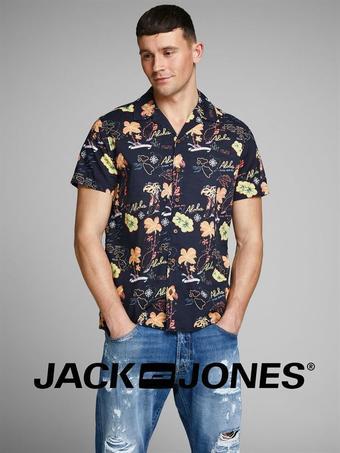 Jack & Jones reclame folder (geldig t/m 05-08)