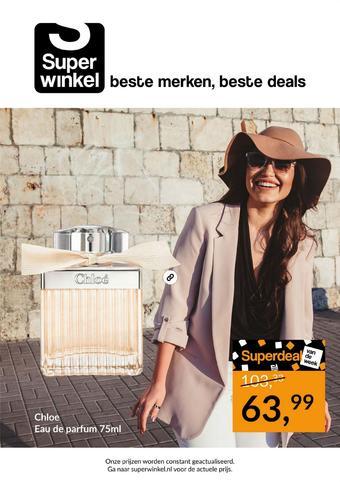 Superwinkel.nl reclame folder (geldig t/m 27-10)