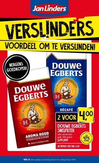 Jan Linders reclame folder (geldig t/m 30-06)