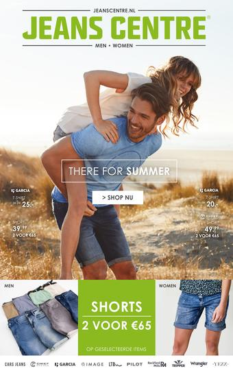 Jeans Centre reclame folder (geldig t/m 30-06)
