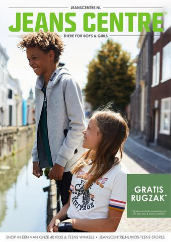 Jeans Centre reclame folder (geldig t/m 22-09)
