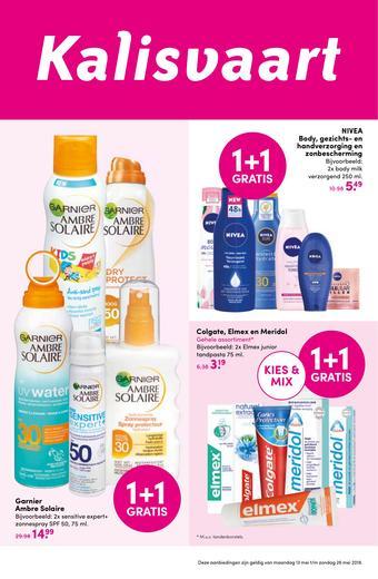 Kalisvaart Drogisterij Beautystore reclame folder (geldig t/m 26-05)