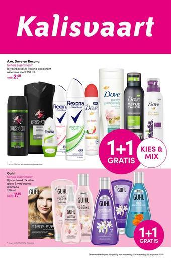 Kalisvaart Drogisterij Beautystore reclame folder (geldig t/m 25-08)