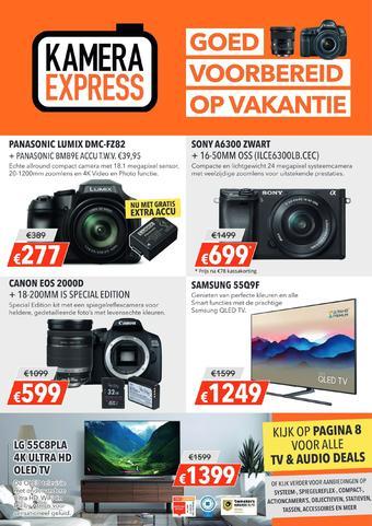 Kamera Express reclame folder (geldig t/m 28-07)