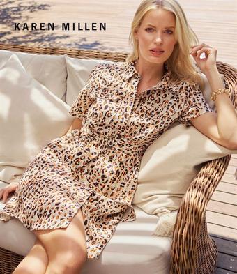 Karen Millen reclame folder (geldig t/m 21-10)