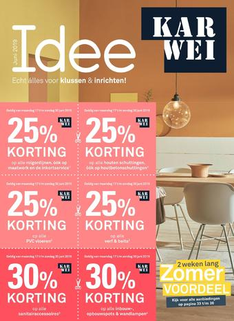 Karwei reclame folder (geldig t/m 30-06)