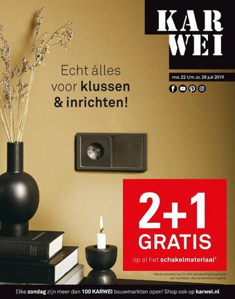 Karwei reclame folder (geldig t/m 28-07)