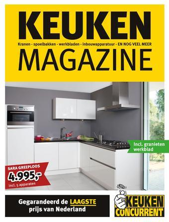 KeukenConcurrent reclame folder (geldig t/m 31-12)