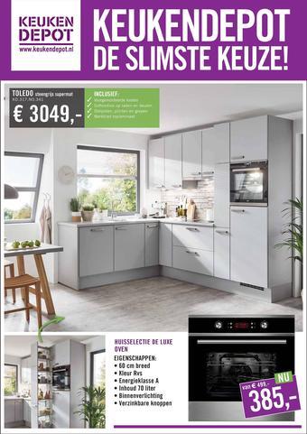 Keukendepot reclame folder (geldig t/m 20-10)