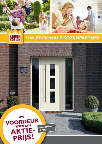 Kroon Kozijn reclame folder (geldig t/m 09-09)