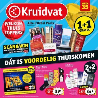 Kruidvat reclame folder (geldig t/m 08-09)