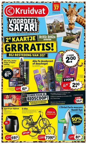 Kruidvat reclame folder (geldig t/m 22-09)