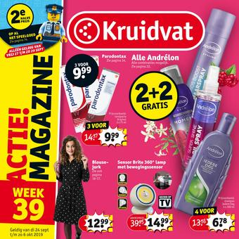 Kruidvat reclame folder (geldig t/m 06-10)