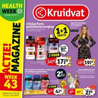 Kruidvat reclame folder (geldig t/m 03-11)