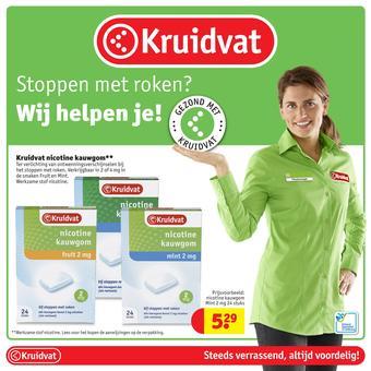 Kruidvat reclame folder (geldig t/m 24-11)