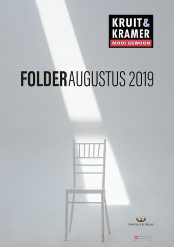 Kruit & Kramer reclame folder (geldig t/m 31-08)