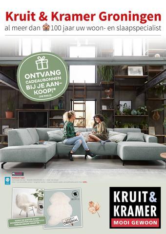 Kruit & Kramer reclame folder (geldig t/m 03-11)