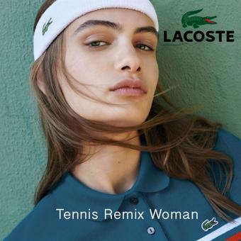 Lacoste reclame folder (geldig t/m 05-08)