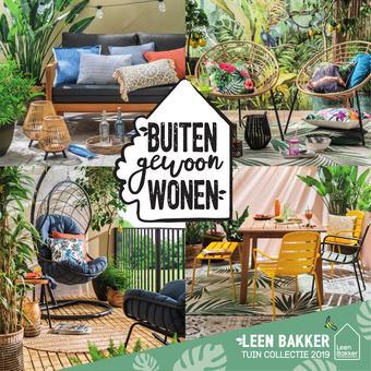 Leen Bakker reclame folder (geldig t/m 31-08)