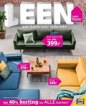 Leen Bakker reclame folder (geldig t/m 26-05)