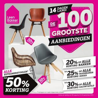 Leen Bakker reclame folder (geldig t/m 08-09)