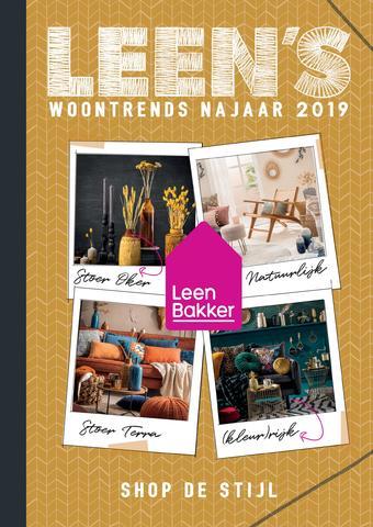 Leen Bakker reclame folder (geldig t/m 30-11)
