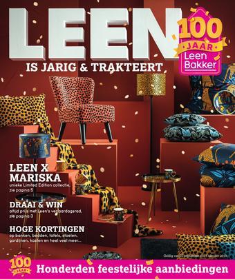 Leen Bakker reclame folder (geldig t/m 06-10)