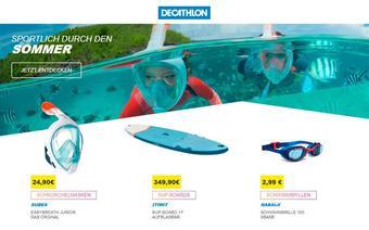 Decathlon Werbeflugblatt (bis einschl. 16-07)