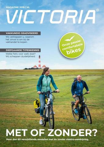 Victoria fietsen reclame folder (geldig t/m 31-01)
