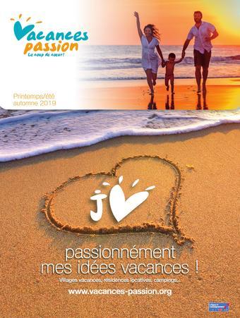 Vacances Passion catalogue publicitaire (valable jusqu'au 31-07)
