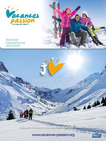 Vacances Passion catalogue publicitaire (valable jusqu'au 31-03)