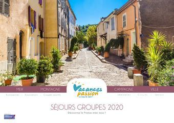 Vacances Passion catalogue publicitaire (valable jusqu'au 31-12)