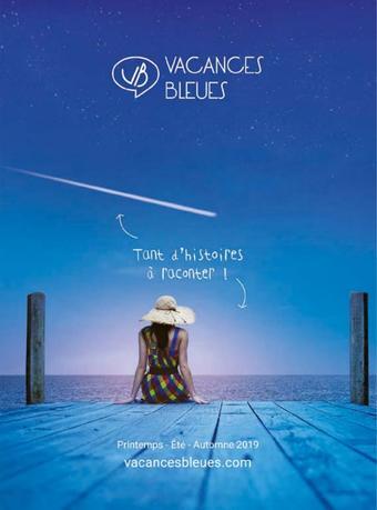 Vacances Bleues catalogue publicitaire (valable jusqu'au 31-08)