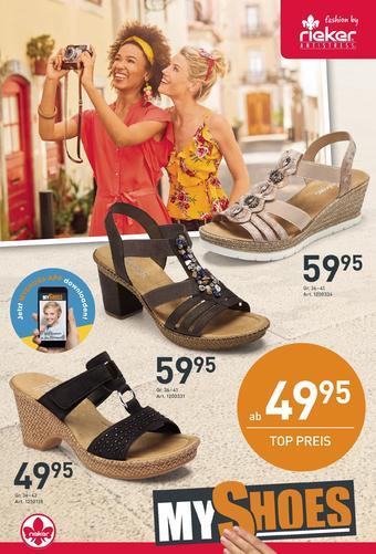 MyShoes Werbeflugblatt (bis einschl. 19-05)