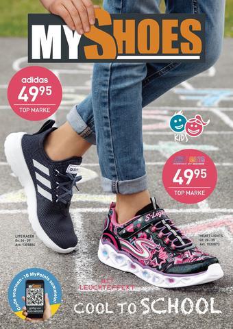 MyShoes Werbeflugblatt (bis einschl. 15-09)