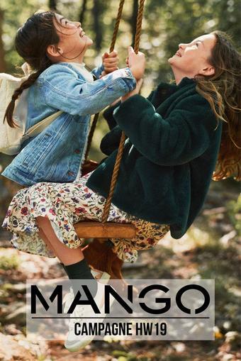 MANGO reclame folder (geldig t/m 11-11)